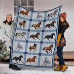 Horse Blanket Fleece Blanket Horse Blanket For Sale Winter Horse Blanket Gift