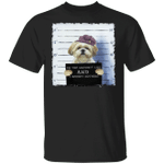 Yorkie On The Naughty List And I Regret Nothing Shirt Dog Prison Funny Tee Gift For Dog Lover