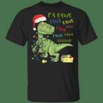 Fa Rawr Rawr Dinosaur Shirt For Christmas Cute Tree Rex Design Funny Gift For Dinosaur Lover