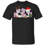 All Of The Unicorn Reindeer Happy Christmas Shirt Funny Present For Friends