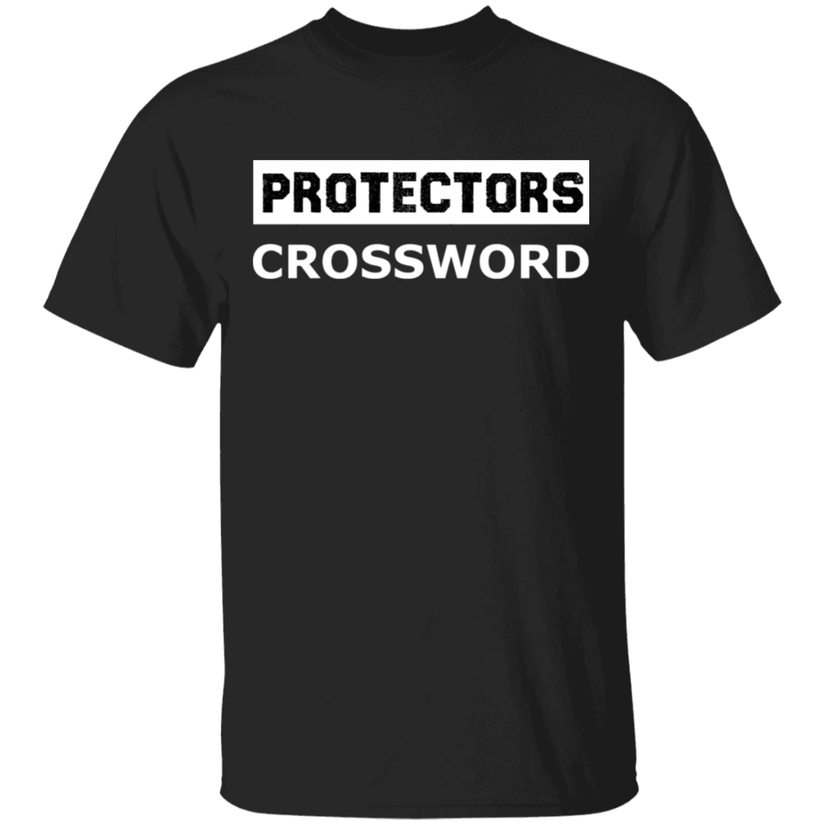 Protectors Crossword T-Shirt NYT Crossword Puzzle Shirt Gifts For Best Friends
