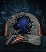 Alaska State Flag Hat 3D Printed Old Retro U.S Flag Alaska Trucker Hat States Patriotic 2