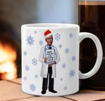 Dr Fauci Christmas Vacation Mug Keep Calm And Wash Your Hand - Drinkware Mug Xmas Gift ideas