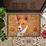 Wipe Your Paws Doormat Dog Doormat Entry Door Rugs Indoor Outdoor Unique Doormat New House Gift