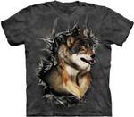 Wolf T-Shirt For Sale Merch Wolf Shirt Meme Vintage For Men Women Gift
