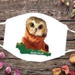 Owl Rockefeller Cloth Face Mask Christmas Gifts For Coworkers Best Selling Face Mask