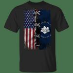 New Mississippi Flag 2020 American Flag T-Shirt Flag Of Mississippi Shirt For Men Grandpa