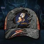 Seabees Hat 3D Print Unique Vintage Old Retro American Flag Cap Men's