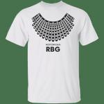 The Notorious RBG T-Shirt Dissent Collar Pattern RBG Shirt Feminist Shirt Inspiring Gifts