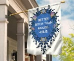 Better Bitch Than Mouse RBG Lady Quote Flag Ruth Bader Ginsburg Merch For Indoor Home Decor