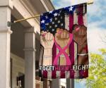 Pink Month Together We Fight Breast Cancer Awareness Flag