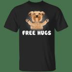 Yorkie Free Hug T-Shirt Cute Shirt For Teenage Girl Birthday Gift For Female Friends