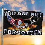 American Patriot Eagle You Are Not Forgotten Flag Pow Mia Flag For Sale