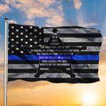 Thin Blue Line American Flag Servant Of God Romans 13 4 Flag Pride Christian Gift For Cops