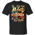 Devil Unicorns It's The Most Wonderful Time Of The Year T-Shirt Halloween Gifts Unicorn Lover