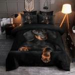 Dachshund Bedding Set Dachshund Duvet Cover Comforter Dog Good Housewarming Gift Idea