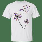 Dachshunds Dandelion Flower Halloween T-Shirt Creative Halloween Costume Ideas Dachshund Gifts
