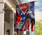 If This Flag Offends You Hand Open American Flag Civil War Flags Designs For Front Door Decor