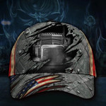 Trucker Drive Hat American 3D Printed Vintage Unique Cap For Men Good Gift For Truck Drivers