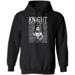 Knight Hoodie Knight Master Of Chivalry Hoodies With Words Holiday Gift For Men Dad Gift
