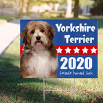 Dogs 2020 Because Humans Suck Sign Vote Dogs 2020 Yard Sign Gifts For Dog Lovers Terrier Dog