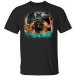 Dachshund And Black Cats Happy Halloween T-Shirt Party City Couples Costumes Couple Presents