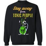 Stay Away From Toxic People Sweater Skull Vase Marc Jacobs Sweatshirt Gift For Girlfriend