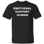 Emotional Support Human Shirt Funny Service Human Parody Shirt Best Gifts For Dog Lovers