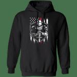 Crusader Hoodie Knight Templar American Flag Hoodie Unisex Clothes Winter Gift