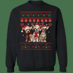 Chihuahua Christmas Sweatshirt Dog Ugly Sweatshirt Christmas Gift For Teachers Idea