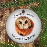 Rockefeller Owl Ornament Rockefeller Center Tree Lighting 2020 Owl Journey Funny Ornament Decor