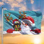 Dachshund Santa Claus Merry Christmas Flag Cute Christmas Room Decor Idea 2020