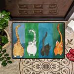 Funny Cat Doormat Hobby Lobby Fun Door Mat Hilarious Doormat Housewarming Gift For Cat Lovers