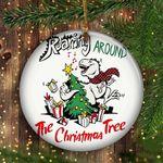 Dinosaur Christmas Ornament T-Rex The Christmas Tree Good Xmas Gift Miniature Ornaments