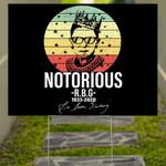 Notorious R.B.G. 1933-2020 Yard Sign Liberal Ruth Bader Ginsburg Signature Lawn Decorations
