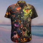 Pug Pumpkin King Halloween Hawaiian Shirt Graphic Cute Halloween Gift Ideas For Pug Lovers
