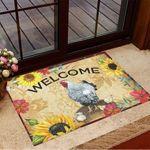Chickens Welcome Doormat Sunflower Doormat New Home Gift Ideas