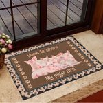 Home Is Where My Pigs Are Doormat Hilarious Doormats Housewarming Gifts