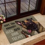 German Shepherd Hope You Brought Beer And Dog Treats Doormat Funny Dog Doormat Home Decor