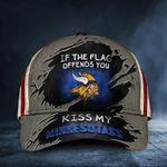Viking Symbol The Flag Offends You Please Kiss My Minnesotass Hat USA Minnesota Viking Gift