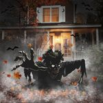 Zombie Halloween Yard Sign Halloween Porch Sign Outdoor House Decorations