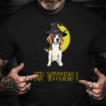 Beagle Sup Witches Shirt Cute Halloween T-Shirts Gifts For Beagle Lovers