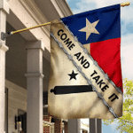 Come And Take It Texas Flag Old Retro Gonzales Flag  Historical Texas Revolution