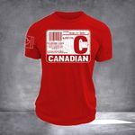 Canadian Blood Type Shirt