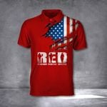 Remember Everyone Deployed Polo Red T-Shirt