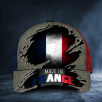 Made In France Hat Old Retro Patriotic French Flag Cap Unique French Themed Gift