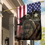 US Army Flag Army Soldier American Flag Unique Patriotic Army Retirement Gifts