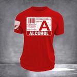 Alcohol Blood Type Shirt