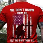 We Don't Know Them All But We Own Them All T-Shirt Red