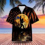 Bigfoot Idaho Flag Halloween Hawaiian Shirt Proud Of Idaho Summer Shirt Halloween Themed Gifts